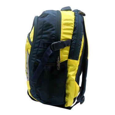 Donex Polyster Rucksack RSC00672 -Yellow & Blue