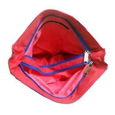 Donex Polyster Soft Shoulder bag Red_RSC00895