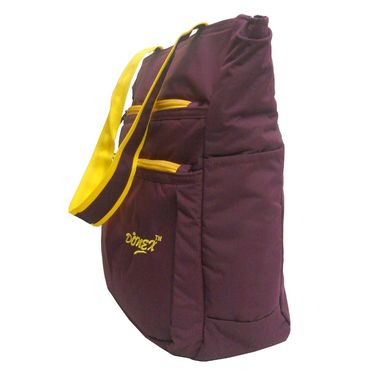 Donex Polyster Soft Shoulder bag Maroon_RSC00899
