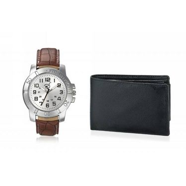 Combo of Rico Sordi Analog Wrist Watch + Wallet_RSD20_WW