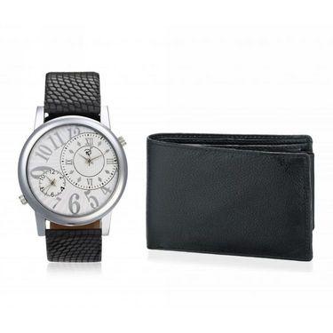 Combo of Rico Sordi Analog Wrist Watch + Wallet_RSD23_WW