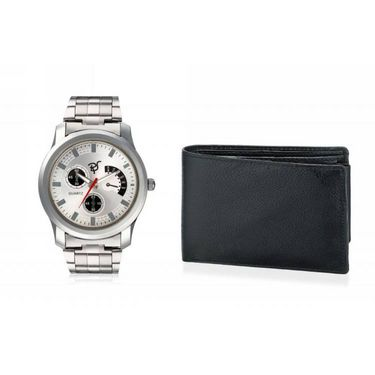 Combo of Rico Sordi Analog Wrist Watch + Wallet_RSD29_WW
