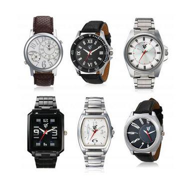 Set of 6 Rico Sordi Analog Wrist Watches