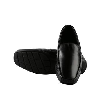 Bacca bucci Genuine Leather Formal Shoes RY-017 - Black