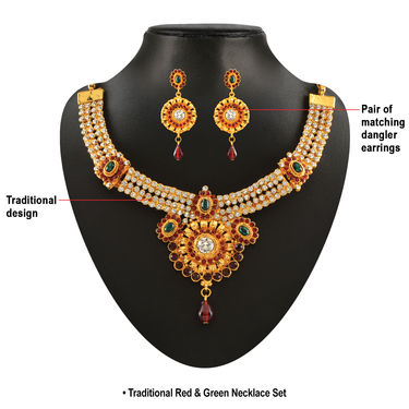 10 Royal Necklace Sets Jewellery Collection by Vellani