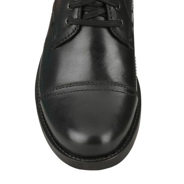 Delize Leather Casual Shoes Sd322-Black