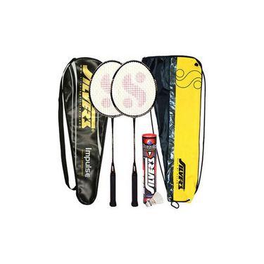 Silver's Pack Of 3 Impulse Badminton Combo - Multicolor