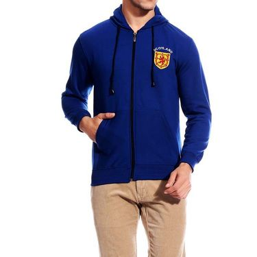 Brohood Cotton Blend Full Sleeves Casual Sweatshirt For Men_skh33022 - Blue
