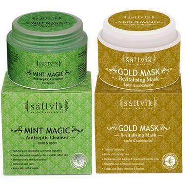Luscious Skin Combo Plus - Gold Mask