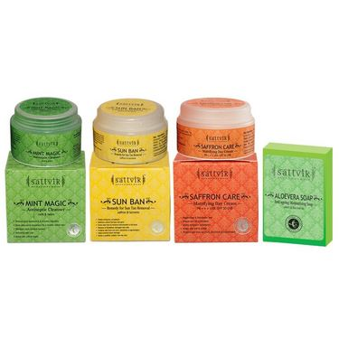 Fresh And Soft Skin Combo - Saffron Care