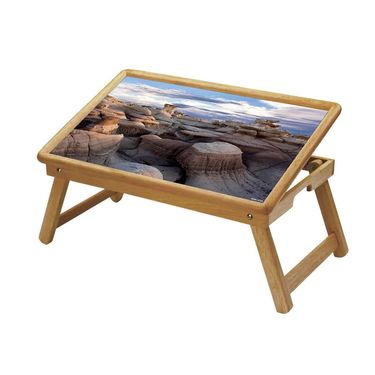 Shopper52 Foldable Wooden Study Table For Kids-STUDY058