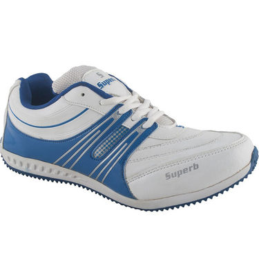 Branded Mesh Sports Shoes Sup4965 -Blue