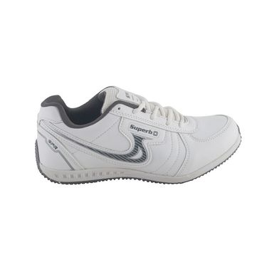 Branded Mesh Sports Shoes Sup5086 -White