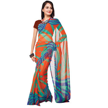 Set of 7 Navya Georgette Sarees