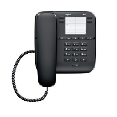 Gigaset DA310 Corded Phones - Black