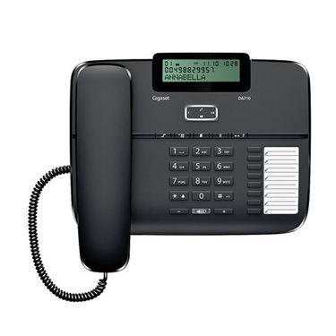 Gigaset DA710 Corded Phones - Black