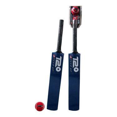 Speed Up Blue T-20 Cricket Bat & Ball Set Size - 1