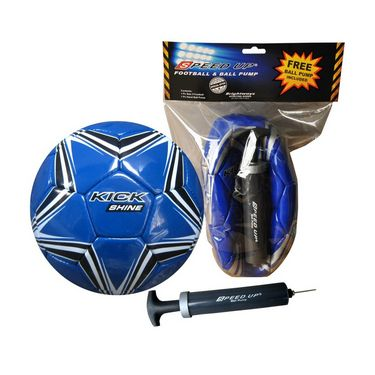 Speed Up FOOTBALL HI5 & PUMP - Blue