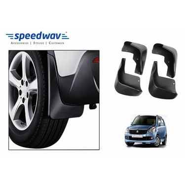 Speedwav Car Mud Flaps Set 4 pcs - Maruti Wagon R