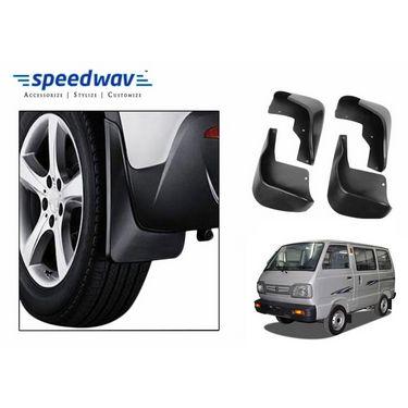 Speedwav Car Mud Flaps Set 4 pcs - Maruti Omni Van
