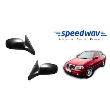 Speedwav Car Side Rear View Mirror Assembly SET OF 2 - Maruti Esteem
