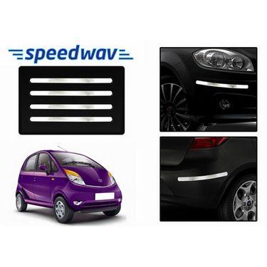 Speedwav Full Chrome Bumper Protector For Tata Nano