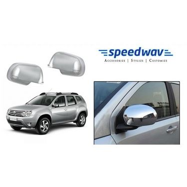 Speedwav Renault Duster Chrome Mirror Covers Set of 2