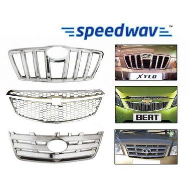 Speedwav Maruti Suzuki 800 (4th gen) Front Chrome Grill Covers