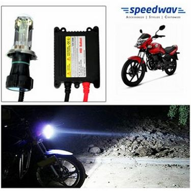 Speedwav Bike HID Headlight Conversion Kit 6000K - Honda Unicorn