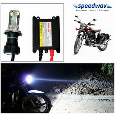 Speedwav Bike HID Headlight Conversion Kit 6000K - Bullet Classic 350