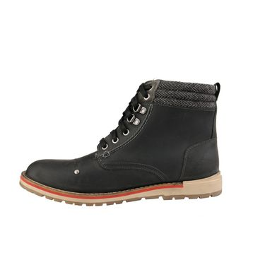 Delize Leather Casual Shoes T-0023-Black