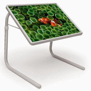 Shoper52 Designer Portable Adjustable Dinner Cum Laptop Tray Table-TABLE003
