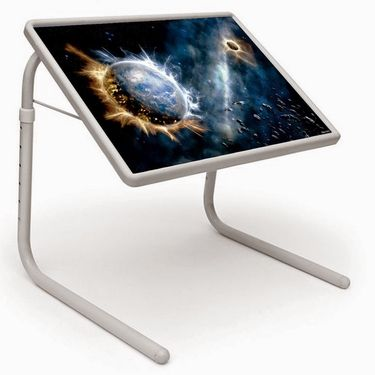 Shoper52 Designer Portable Adjustable Dinner Cum Laptop Tray Table-TABLE017