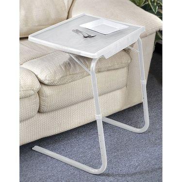 Shoper52 Designer Portable Adjustable Dinner Cum Laptop Tray Table-TABLE031