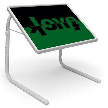 Shoper52 Designer Portable Adjustable Dinner Cum Laptop Tray Table-TABLE080