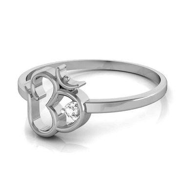 Avsar Real Gold & Swarovski Stone Kirti Ring_T028wb