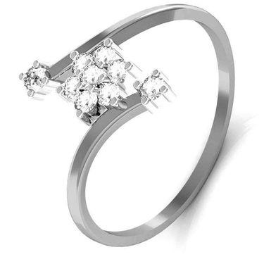 Avsar Real Gold & Swarovski Stone Bhopal Ring_T036wb