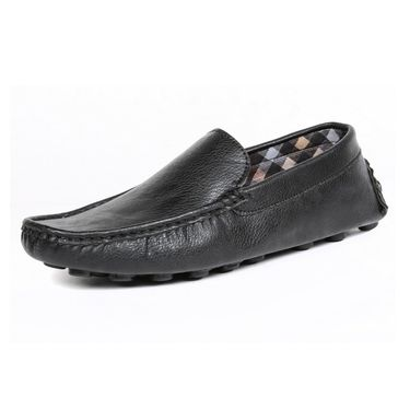 Ten Synthetic Leather Black Loafers -ts181