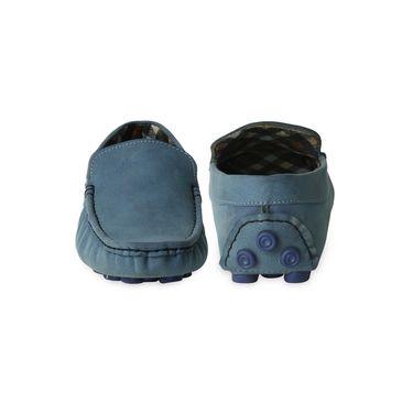 Ten Canvas Blue Loafers -ts182