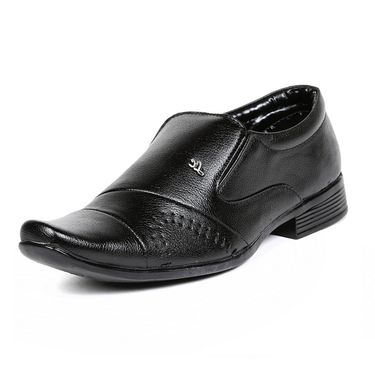 Ten Patent Leather Black Formal Shoes -ts235