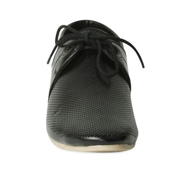 Ten Synthetic Leather Black Casuals Shoes -ts177