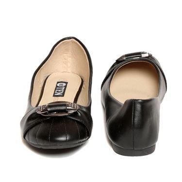 Synthetic Leather Black Bellies -blbltblk01