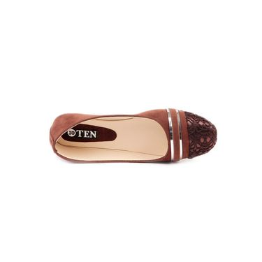 Ten Synthetic Leather Brown Bellies -ts244