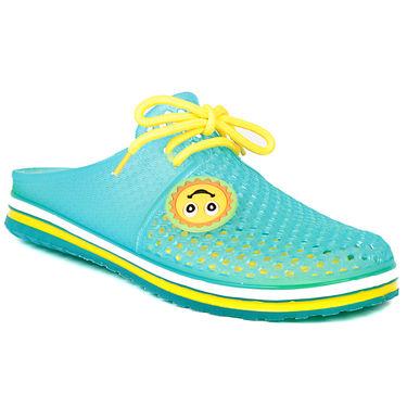Ten Pvc Green Slippers & Flip-Flops -ts291