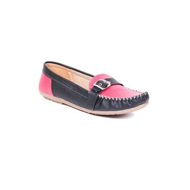 Ten Leather 073 Women's Loafers - Black