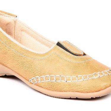 Ten Denim Tan Womens Loafers -ts220