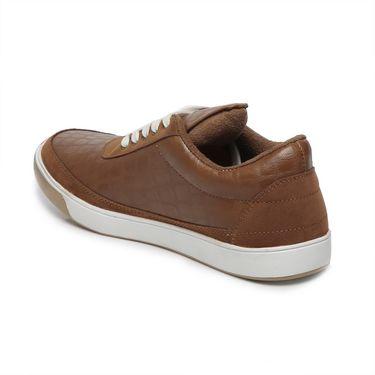 Ten Tan Leather Sneakers -mtj17