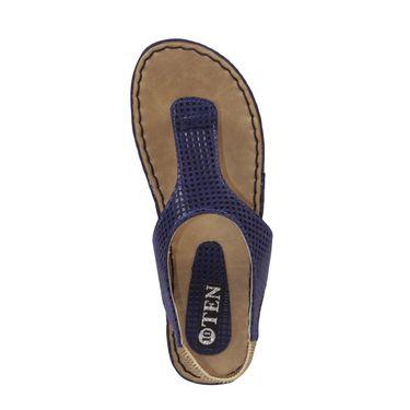 Ten Artificial Leather Blue Sandals -ts18