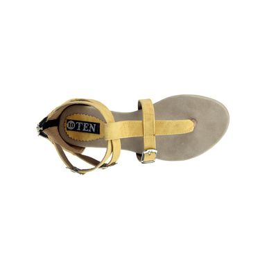 Ten Denim Yellow Sandals -ts33