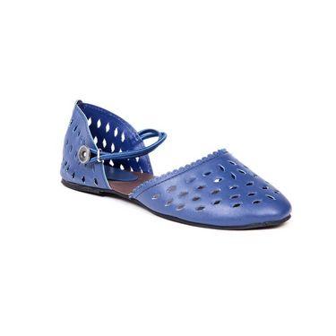 Ten Synthetic Leather 111 Women's Sandals - Blue